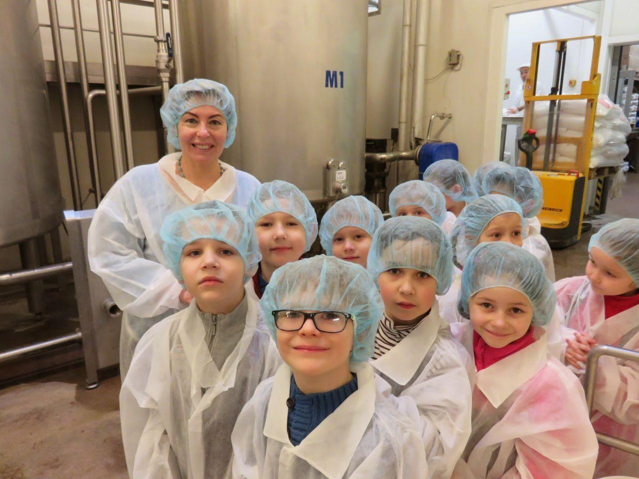 фабрика мороженого экскурсия фото